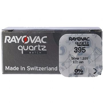 Rayovac 395 SR927SW/SR927W 1.5V Silver Oxide Watch Battery